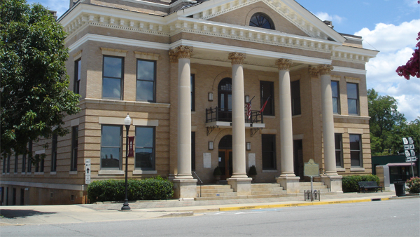 Jasper County Courthouse 2012
