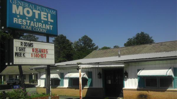 General Putnum Motel Restaurant 2012