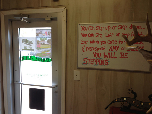 Lizard Lick Towing Whiteboard