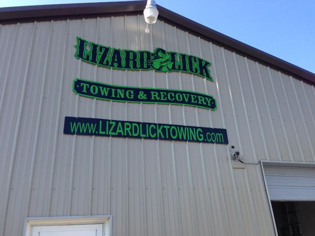 Lizard Lick Sign